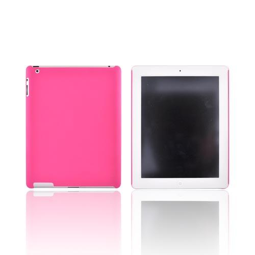 Original Incipio Apple iPad 2 Feather Rubberized Hard Case w/ Screen Protector, IPAD-207 - Hot Pink