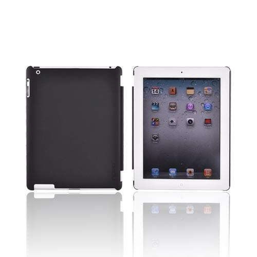 Original Incipio Apple iPad 2 Feather Rubberized Hard Case w/ Screen Protector, IPAD-225 - Black