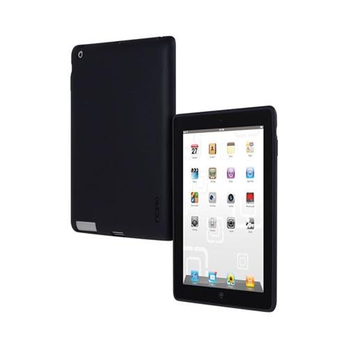 Original Incipio Apple iPad 2, New iPad NGP Impact Resistant Hard Case w/ Screen Protector, IPAD-268 - Black