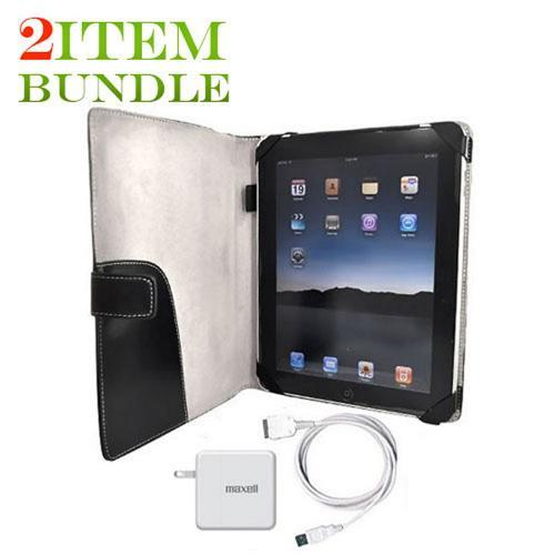 Apple iPad (1st Gen) Combo Package w/ Charger and Case