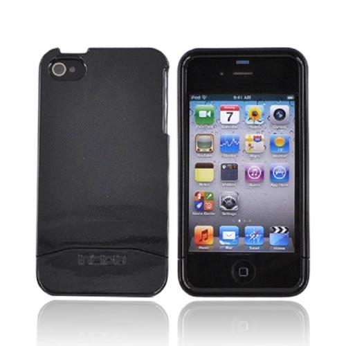 Original Incipio Apple Verizon/ AT&T iPhone 4, iPhone 4S Hard Shell Edge Case w/ Screen Protector, IPH-545 - Black