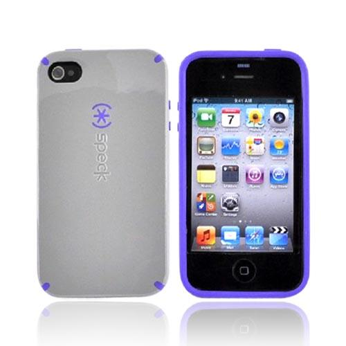 Original Speck Apple iPhone 4 CandyShell Case, IPH4CNDY-A00A13 - PaleMoon Gray