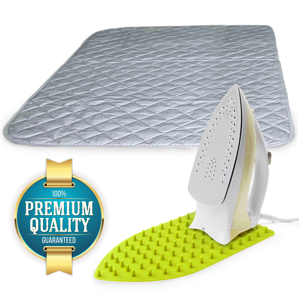 Eutuxiau0027s Ironing Mat Transforms The Top Of Laundry Appliances Into An  Instant Compact Ironing Board. Place The Wide Magnetic, Heat Resistant, ...