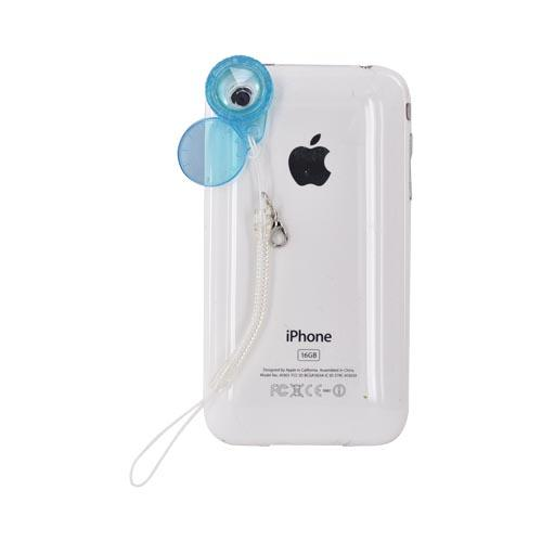 Original Kikkerland iPhone, iPad 2, Android Jelly Lens for Cell Phone Cameras w, Strap, JL03 - Kaleidoscope