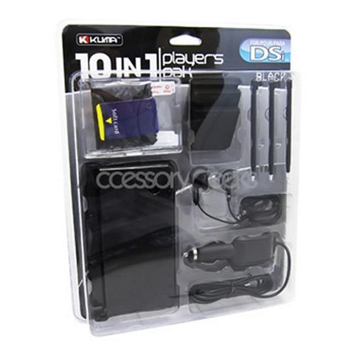 KUMA Nintendo DSi 10 in 1 Player's Pak - Black