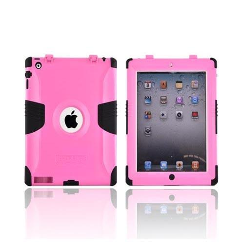 Original Trident Kraken Apple iPad 2 Hard on Silicone Case w/ Built-In Screen Protector, KKK2-IPAD-2-PK - Pink/ Black