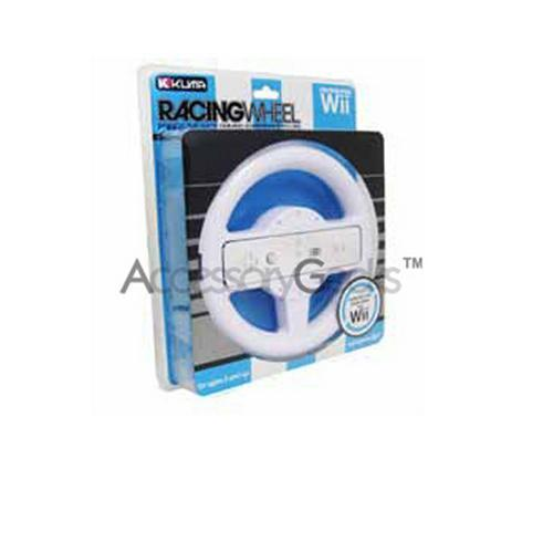 Original KUMA Steering Wheel for Wii - White, KW-01026