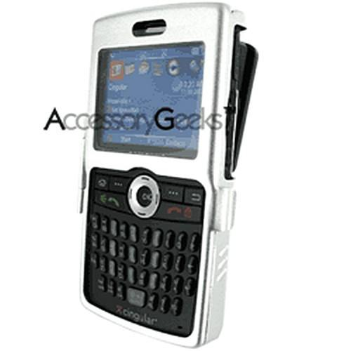 Samsung Blackjack Metal Armor Case - Silver