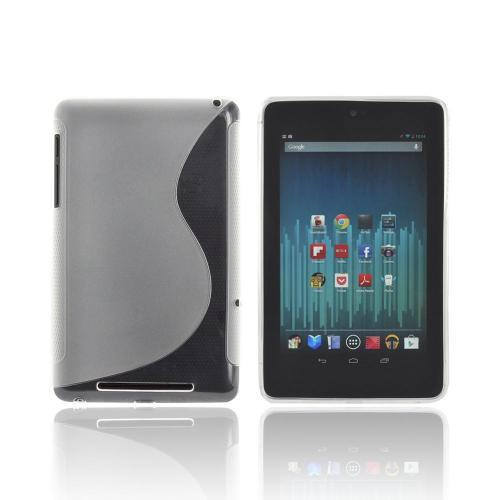 Google Nexus 7 Crystal Silicone Case - Frost White S