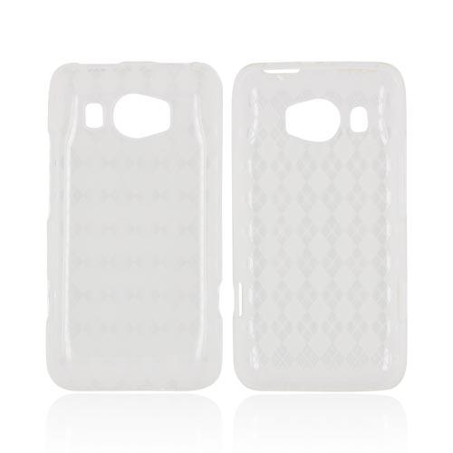 HTC Titan 2 Crystal Silicone Case - Argyle Clear