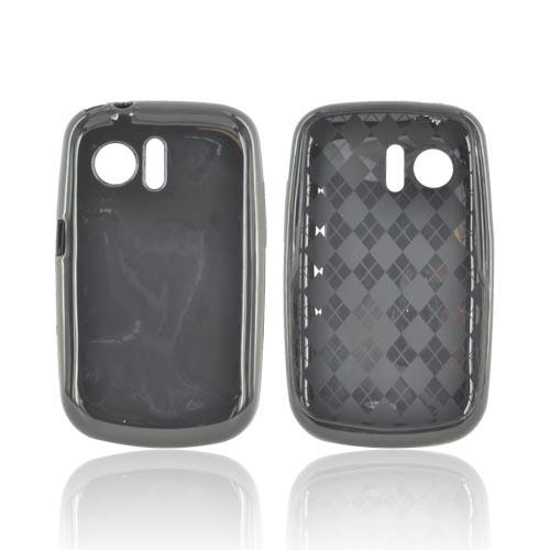 Huawei Pinnacle M635 Crystal Silicone Case - Black (Argyle Interior)