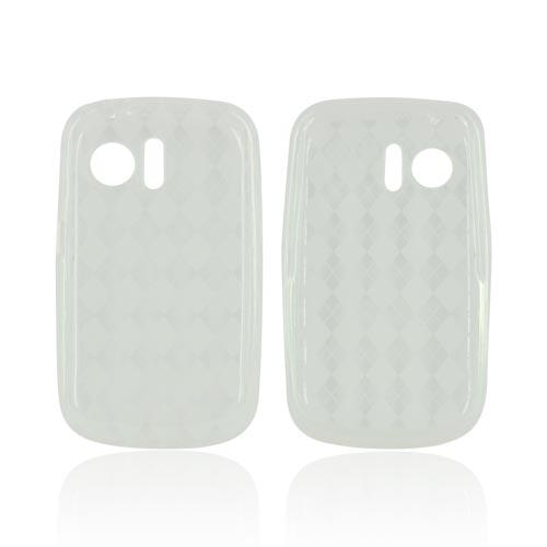 Huawei Pinnacle M635 Crystal Silicone Case - Argyle Clear