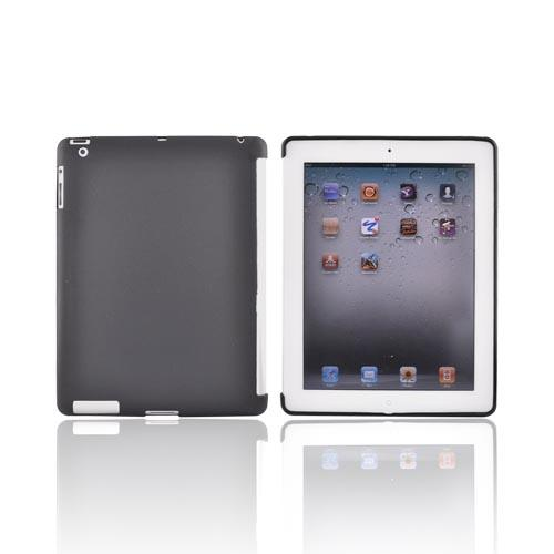 Apple iPad 2/ New iPad Crystal Silicone Case - Black