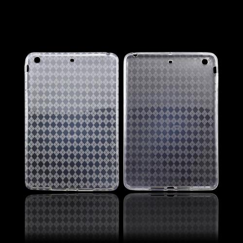 Argyle Clear Crystal Silicone Skin Case for Apple iPad Mini/ iPad Mini 2
