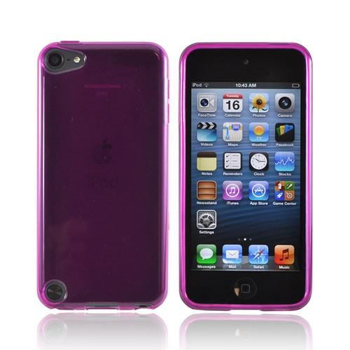 Apple iPod Touch 5 Crystal Silicone Case - Purple