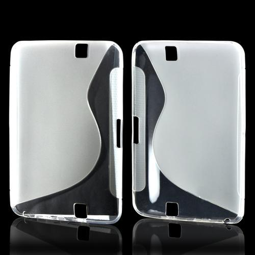 Clear S Crystal Silicone Case for Amazon Kindle Fire HD