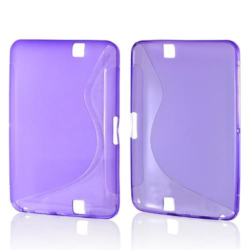 Purple S Crystal Silicone Case for Amazon Kindle Fire HD