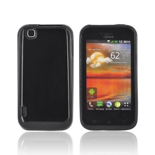 T-Mobile MyTouch Crystal Silicone Case - Black (Argyle Interior)