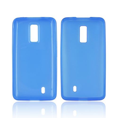 LG Spectrum Crystal Silicone Case - Blue
