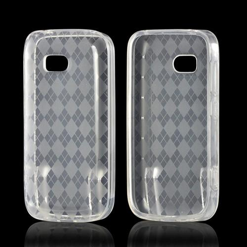 Argyle Clear Crystal Silicone Case for Nokia Lumia 822