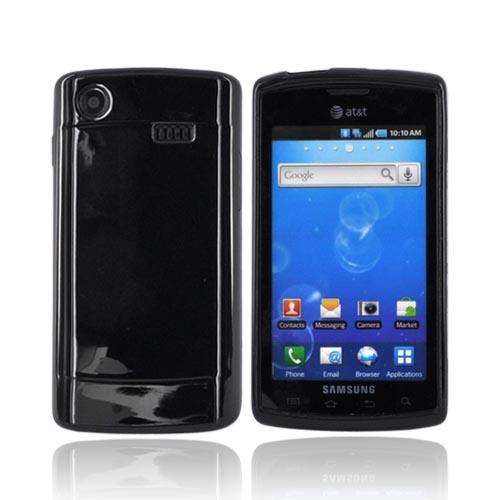 Luxmo Samsung Captivate i897 Crystal Silicone Case - Black