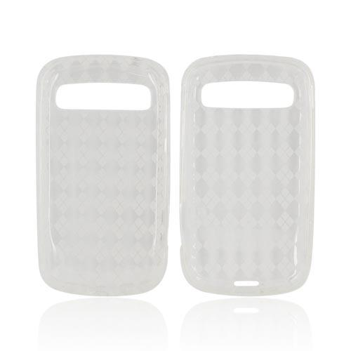 Samsung Rookie R720 Crystal Silicone Case - Argyle Clear