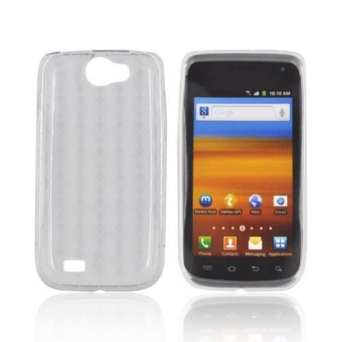 Samsung Exhibit 2 4G Crystal Silicone Case - Argyle Clear