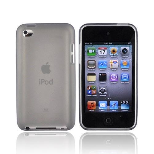 Luxmo Apple iPod Touch 4 Crystal Silicone Case - Frost Smoke