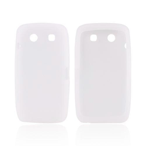 Blackberry Torch 9850 Silicone Case - Frost White