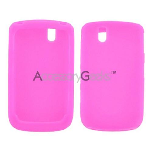 Blackberry Bold 9650 & Tour 9630 Silicone Case, Rubber Skin - Magenta