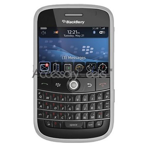 Blackberry Bold Silicone/Rubber Skin Case - Smoke