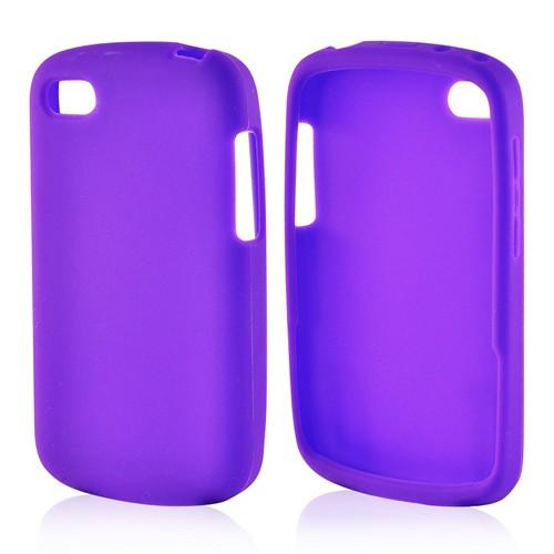Purple Silicone Case for Blackberry Q10