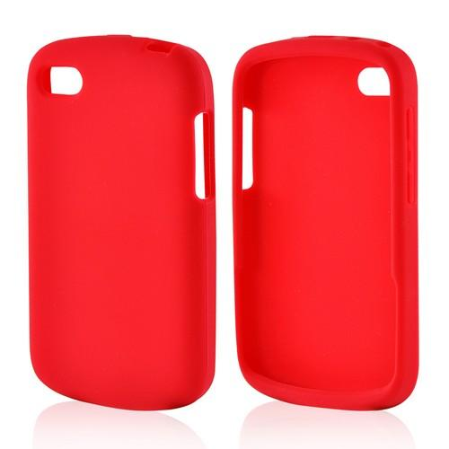 Red Silicone Case for Blackberry Q10