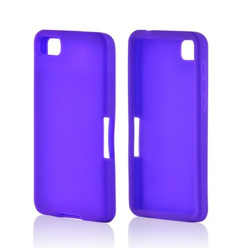 Purple Silicone Case for BlackBerry Z10