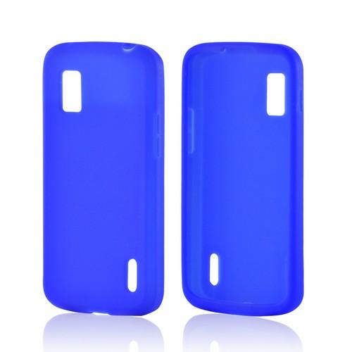 Blue Silicone Case for Google Nexus 4
