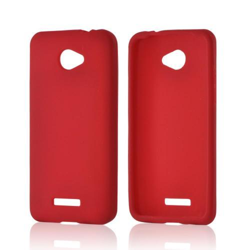 Red Silicone Case for HTC Droid DNA