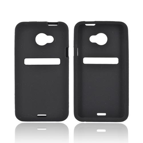 HTC EVO 4G LTE Silicone Case - Black
