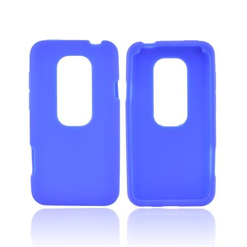 HTC EVO 3D Silicone Case - Blue