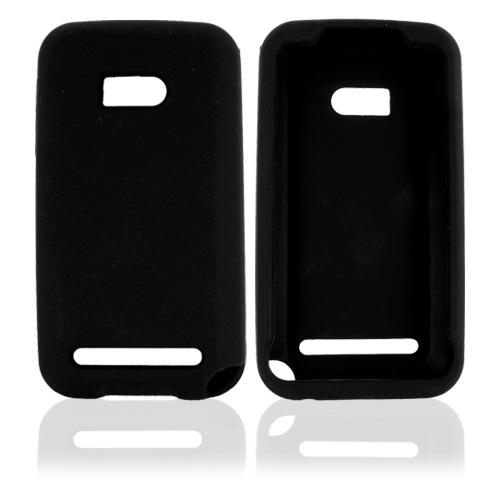 Verizon HTC Imagio Silicone Case, Rubber Skin - Black