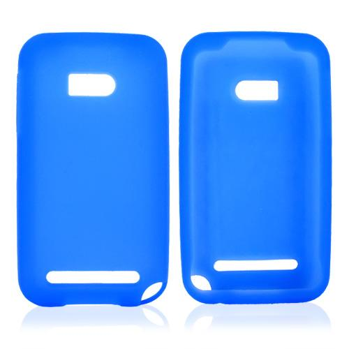 Verizon HTC Imagio Silicone Case, Rubber Skin - Blue