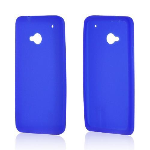 Blue Silicone Case for HTC One