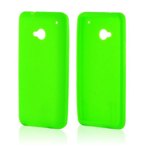Neon Green Silicone Case for HTC One