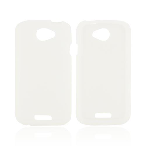 HTC One S Silicone Case - Frost White