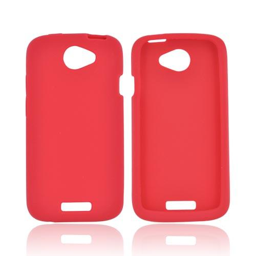 HTC One S Silicone Case - Red
