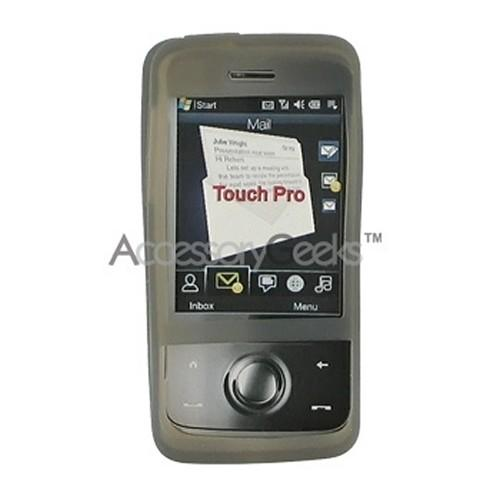 HTC Touch Pro Silicone Case, Rubber Skin (CDMA) - Smoke