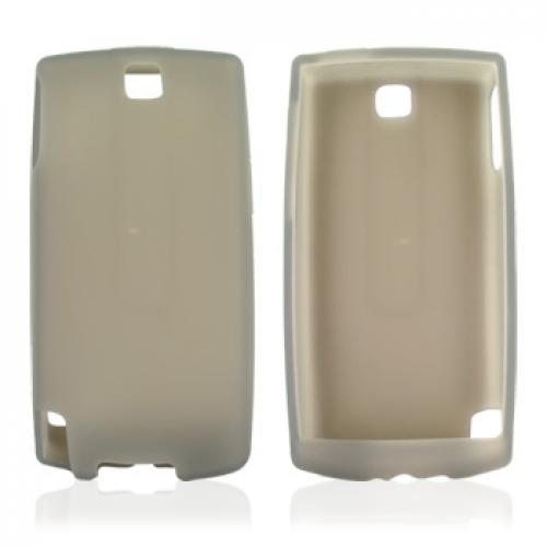 AT&T HTC Pure Silicone Case, Rubber Skin - Smoke