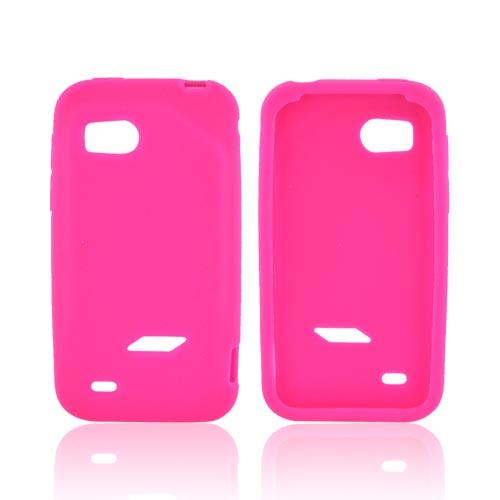 HTC Rezound Silicone Case - Hot Pink