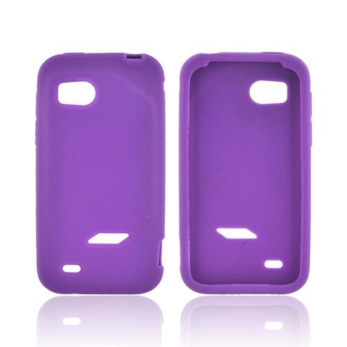 HTC Rezound Silicone Case - Purple