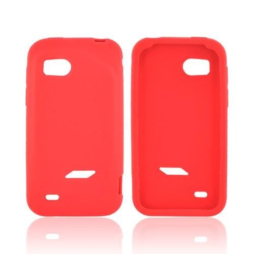 HTC Rezound Silicone Case - Red