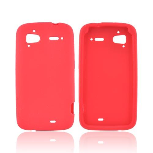 HTC Sensation 4G Silicone Case - Red